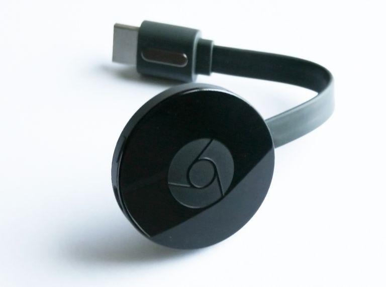 The second-generation model of Google's digital media streamer Chromecast