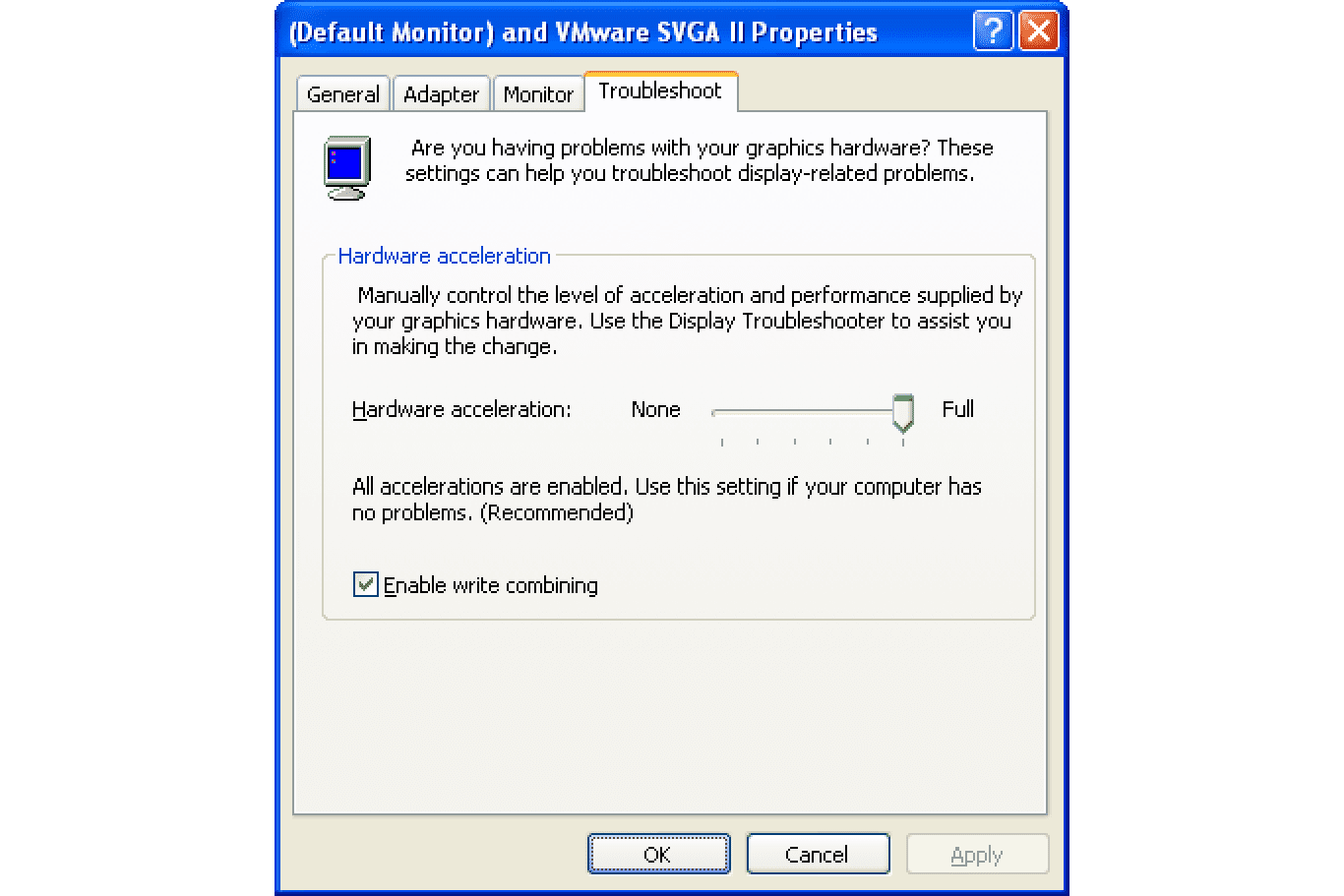 How to Lower a Video Card's Hardware Acceleration in XP
