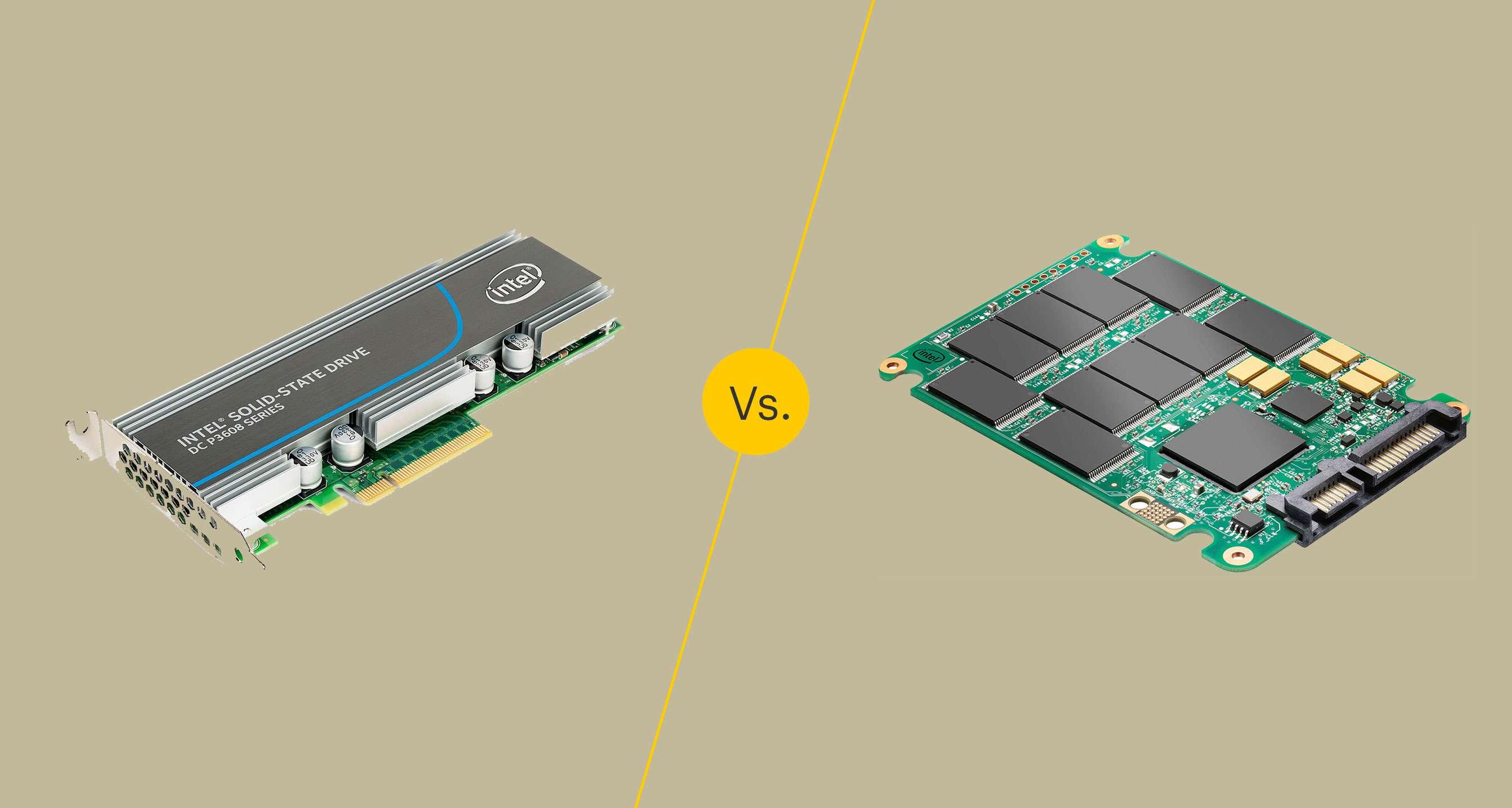 PCIe vs SSD