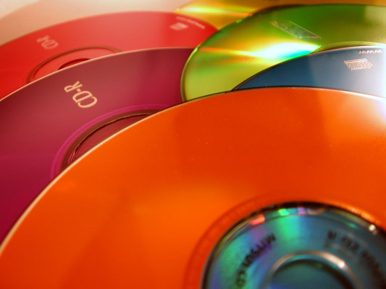 Colorful CD's