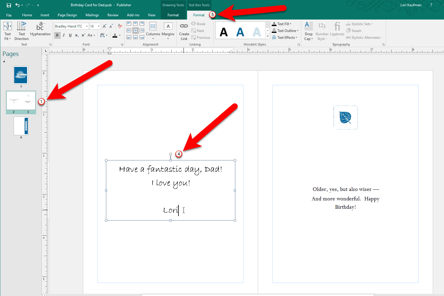 how to use the microsoft publisher