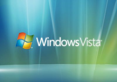 Windows Vista splash screen
