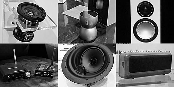 montage of audio images from CEDIA 2013