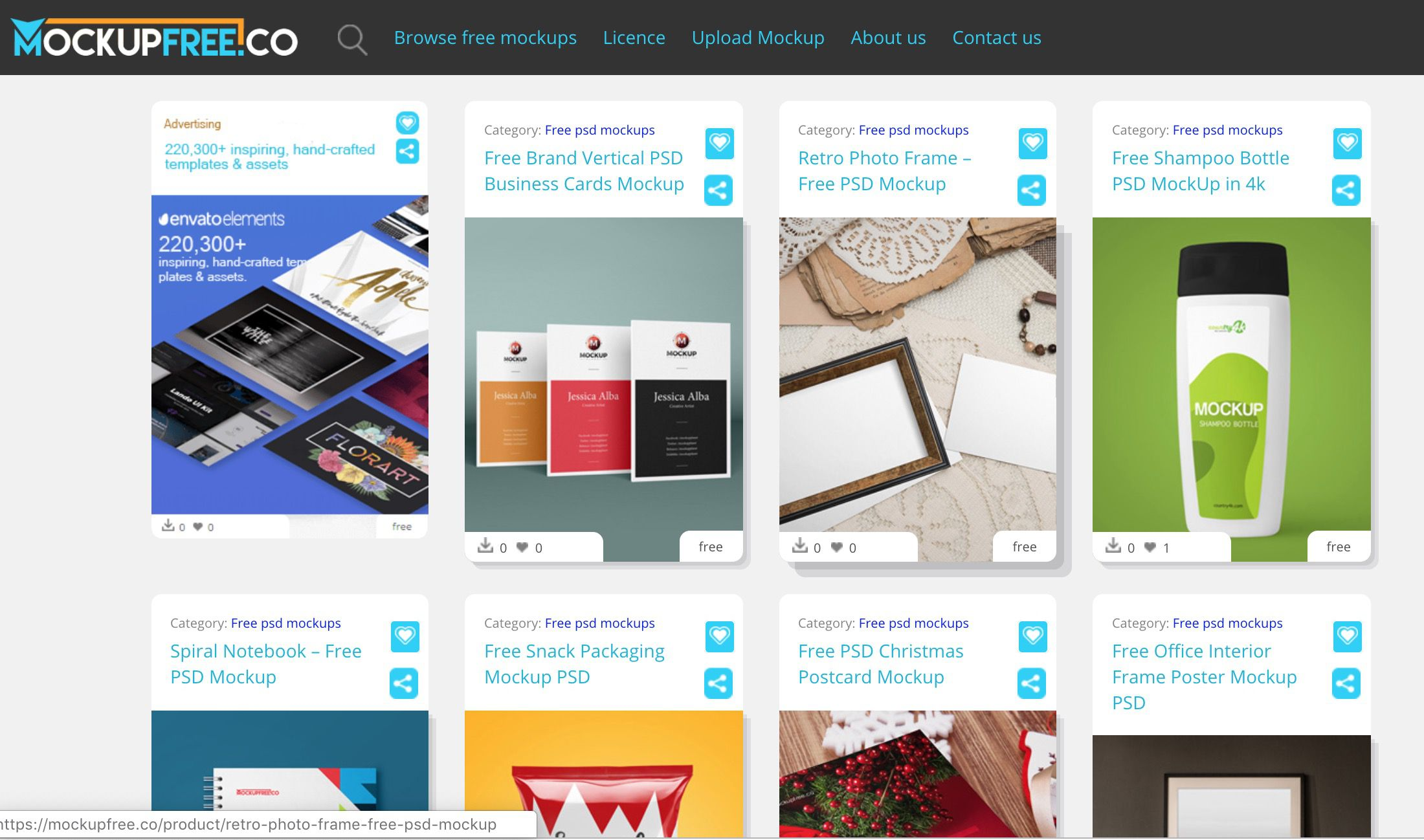 12 best sites to find free psd templates for photoshop