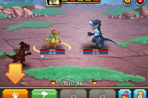 Monster Legends battle