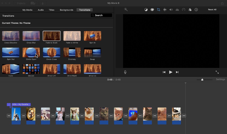 Create a Photomontage With iMovie