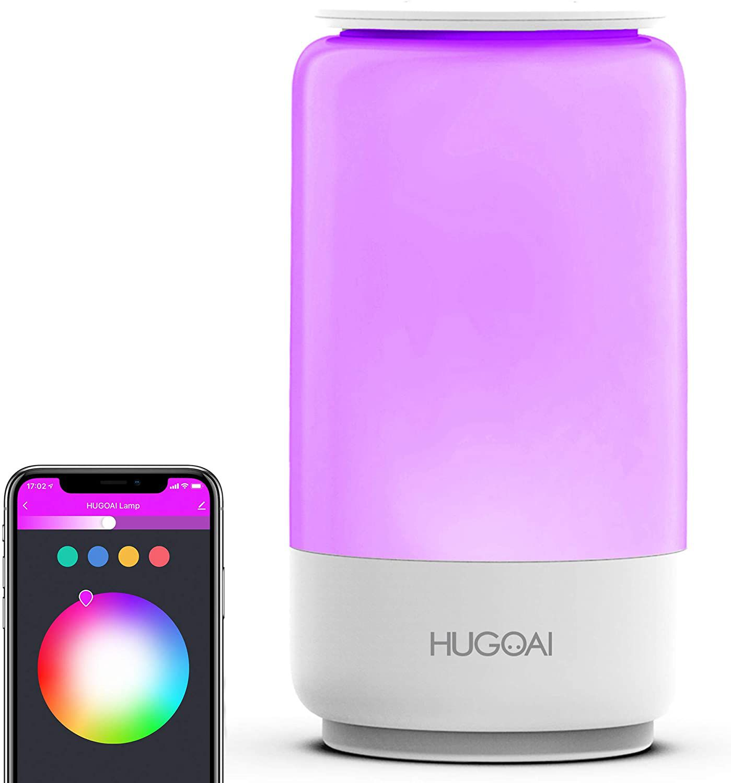 HUGOAI Bedside Lamp