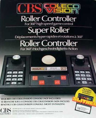ColecoVision controller ad