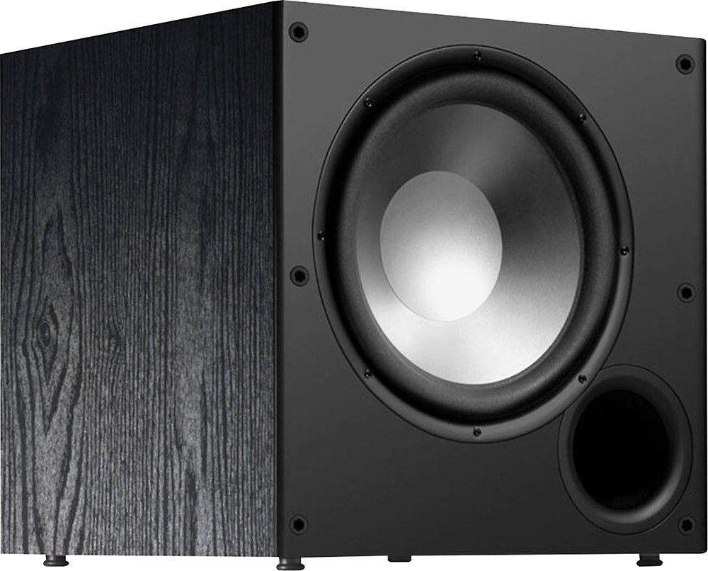 "Polk Audio - PSW Series 10"" Active Subwoofer - Black"