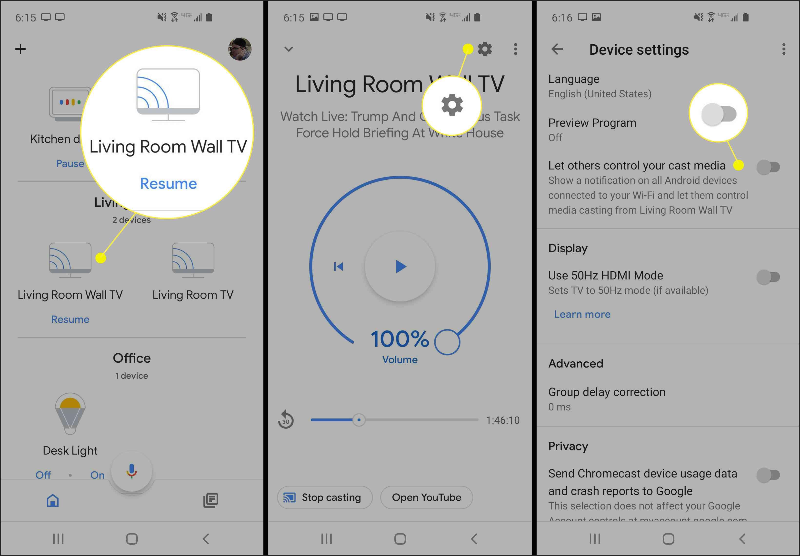 How To Turn Off Chromecast