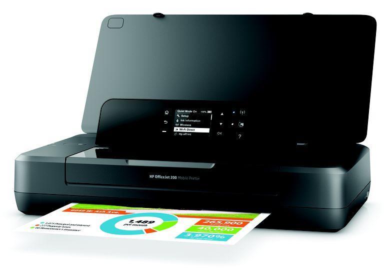 HP's Officejet 200 Mobile Printer