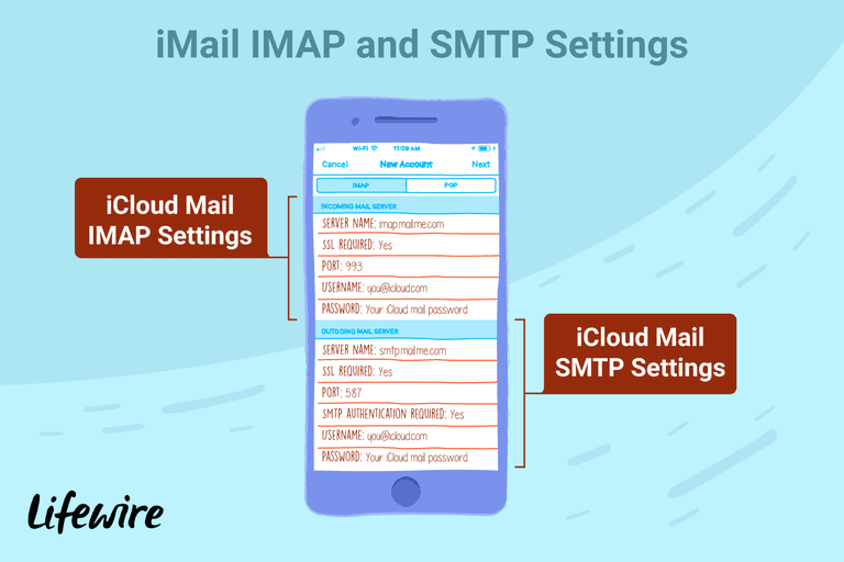 iCloud Email Settings for All Platforms