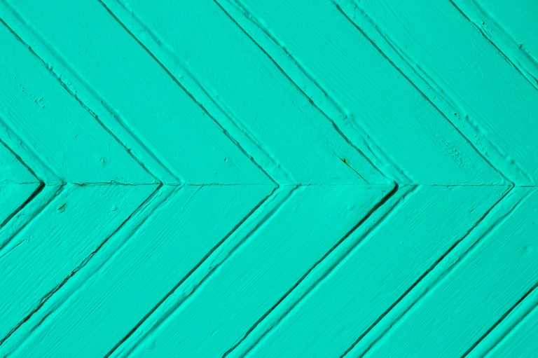 Full Frame Shot Of Turquoise Color Patterned Wall