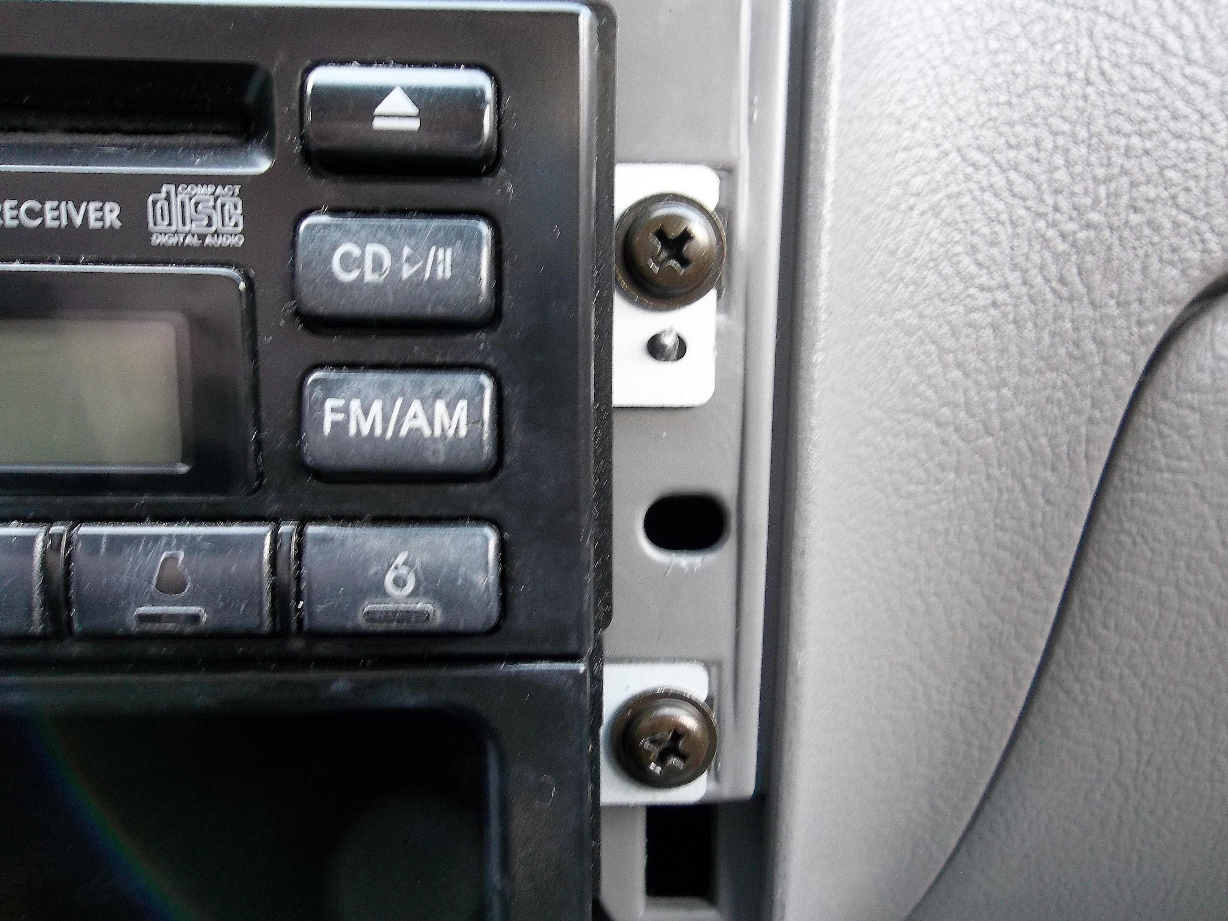 Installing A New Head Unit Car Stereo Audio Radio Wiring Abbreviations Kia Rio Mounting Screws