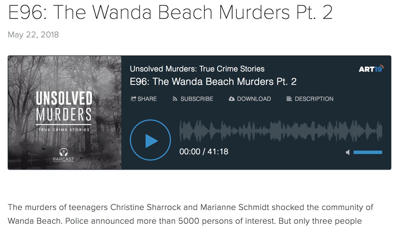 Unsolved Murders screenshot