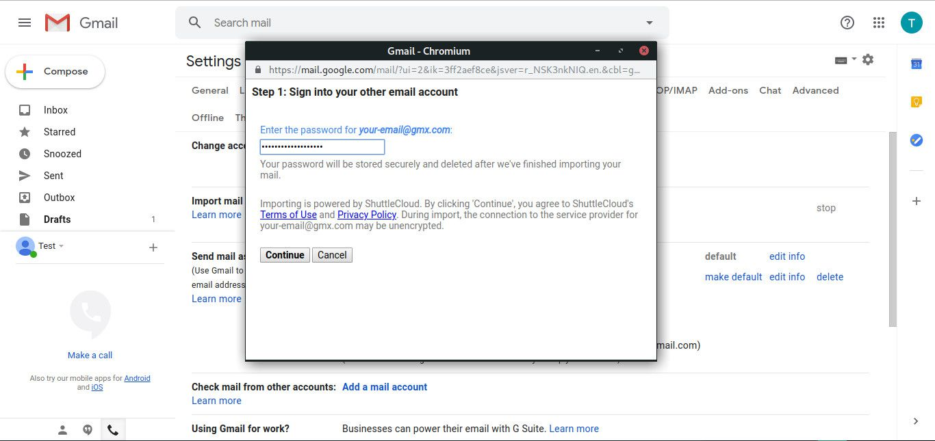How to Access GMX Mail in Gmail