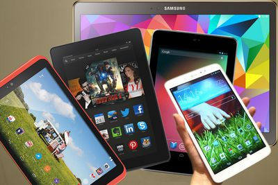Tablets from different companies