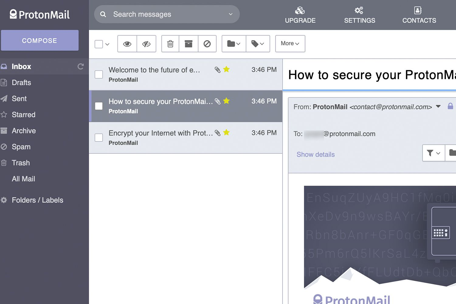 switch gmail to protonmail