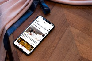 Facebook News on iPhone