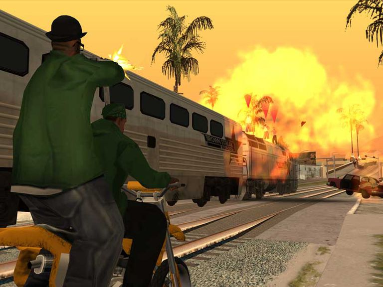 cheat codes of gta san andreas