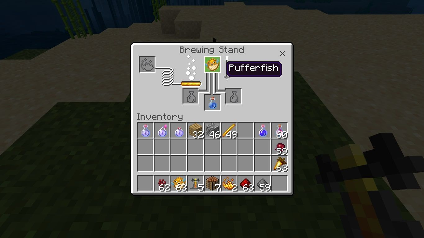 How To Make A Water Breathing Potion In Minecraft