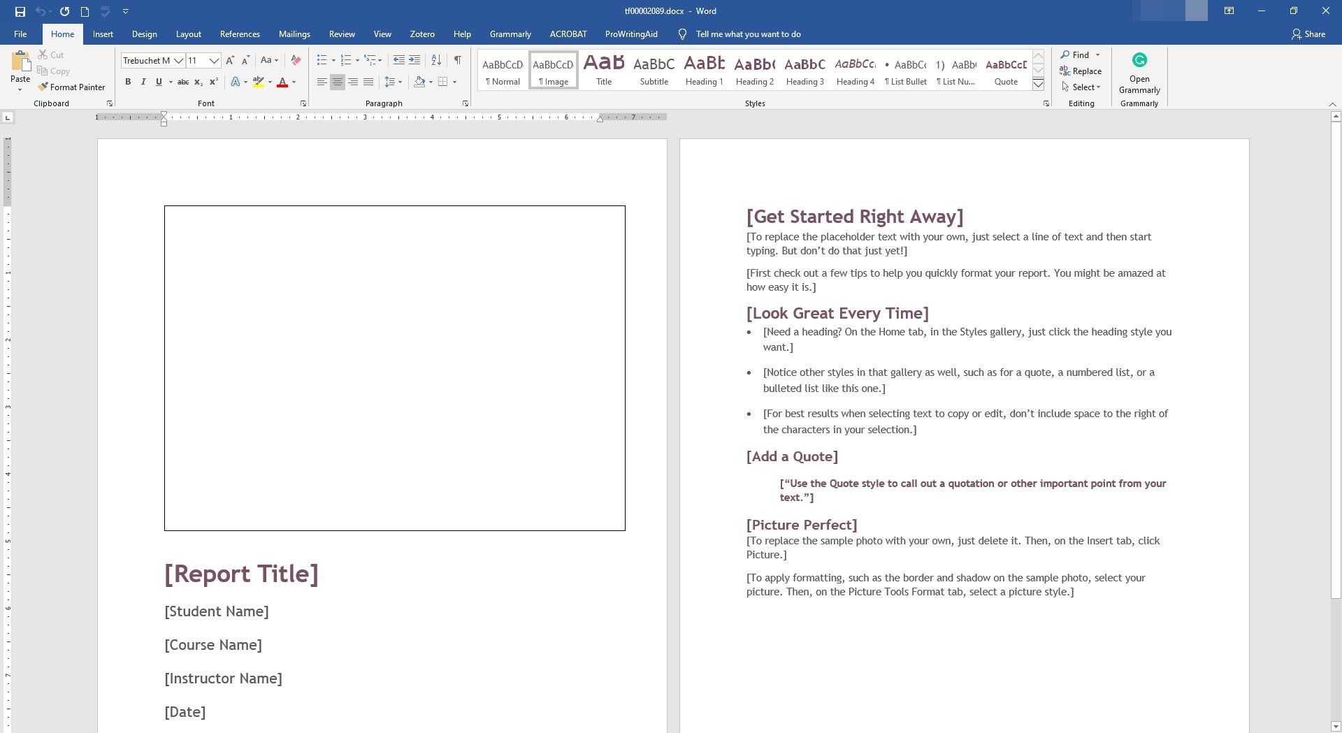 Microsoft Word Report Template from www.lifewire.com