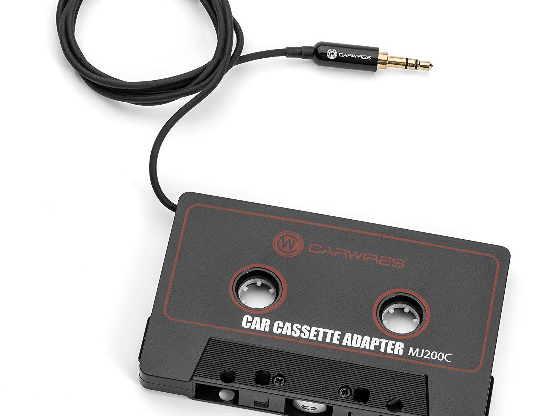Just Wireless Car Audio Cassette Adapter