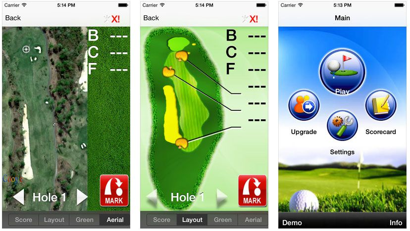 free golf apps for android