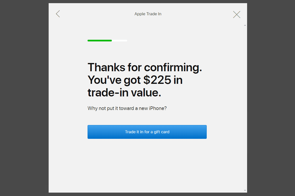 iPhone value from Apple Trade In