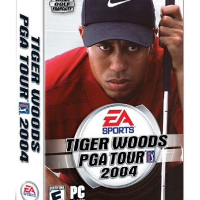 Tiger Woods PGA 2004. Courtesy of Amazon 2b6e19505f7