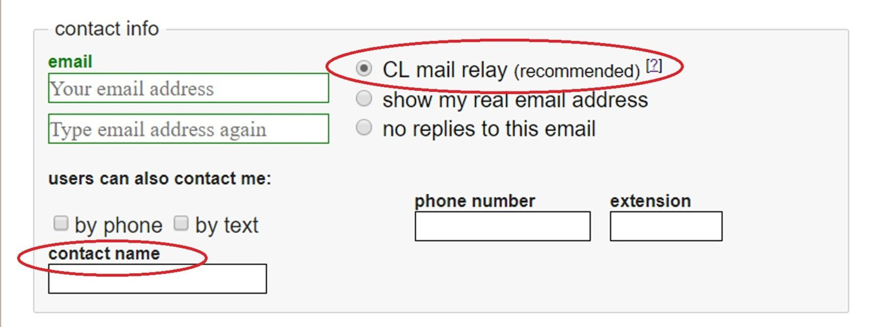 how to reply on craigslist. When placing an ad ...
