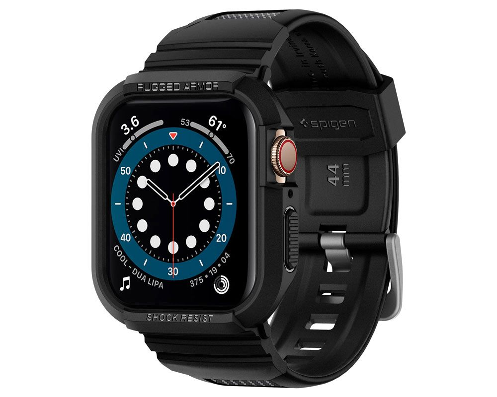 Spigen Rugged Armor Pro Apple Watch Band with Case