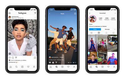 Instagram Reels in the Instagram app