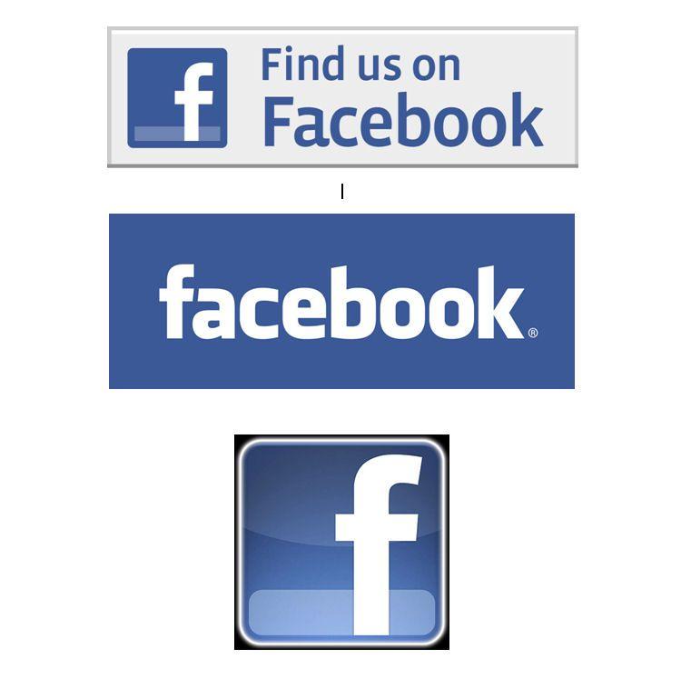 Collage of Facebook logos showing Facebook branding.