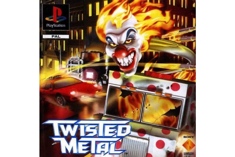 Twisted Metal game artwork