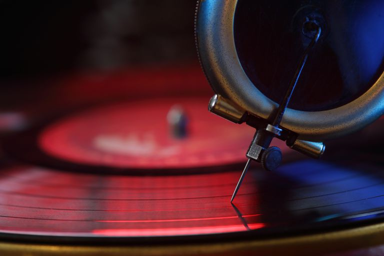 The needle on a record player is a perfect example of a transducer