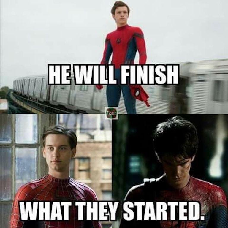 The Best Spider Man Memes