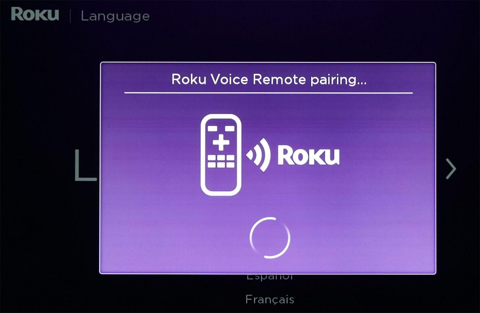 Roku Soundbar – Remote Pairing
