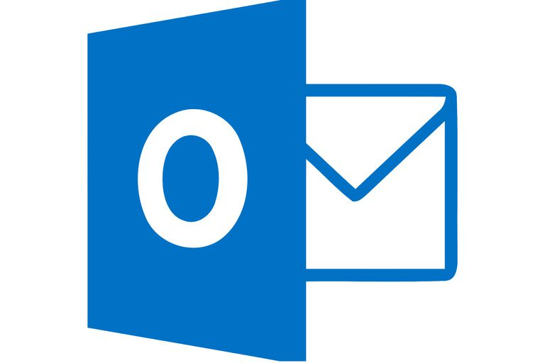 Graphic of the MS Outlook logo