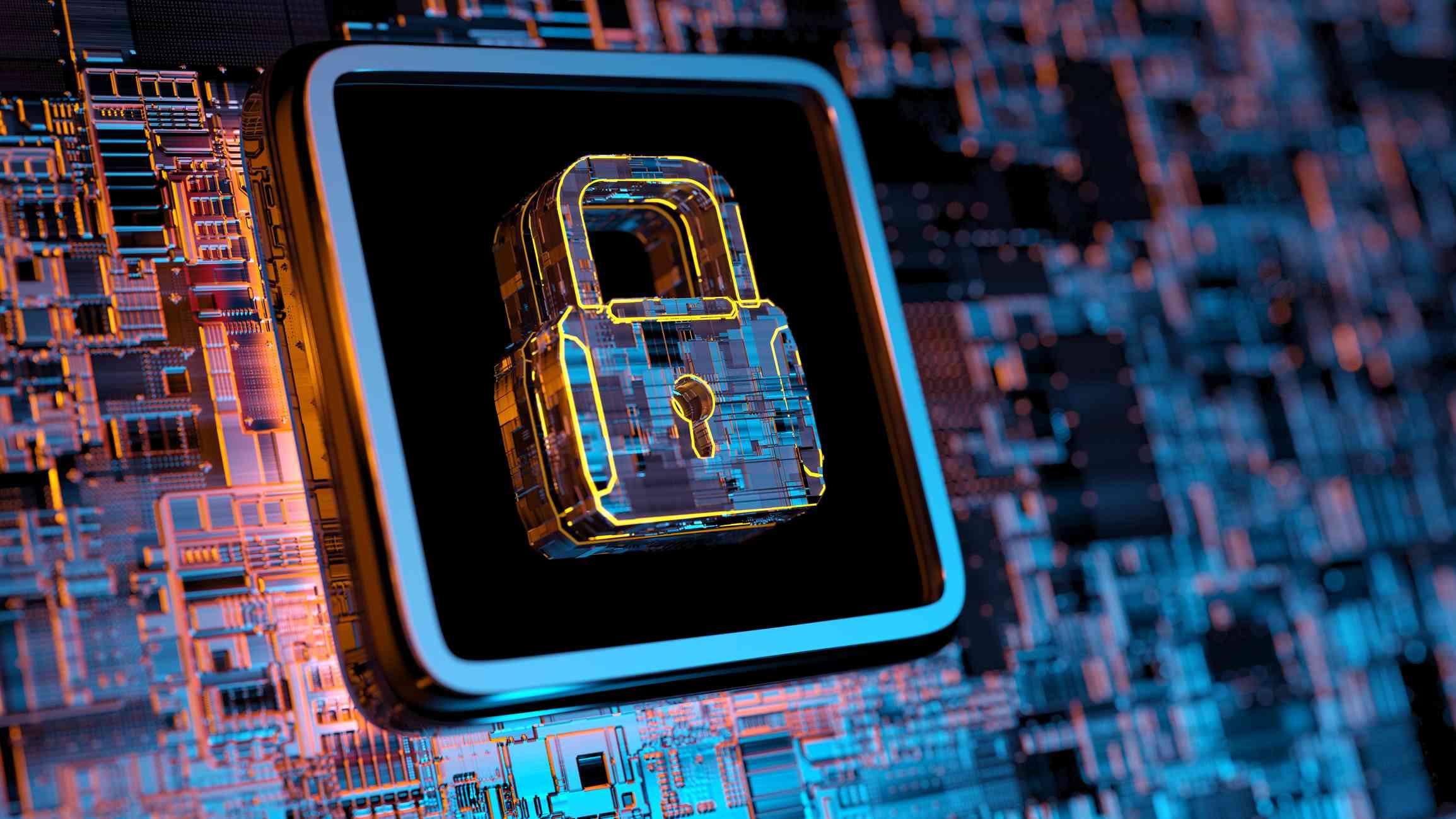 Digital Security concept image.