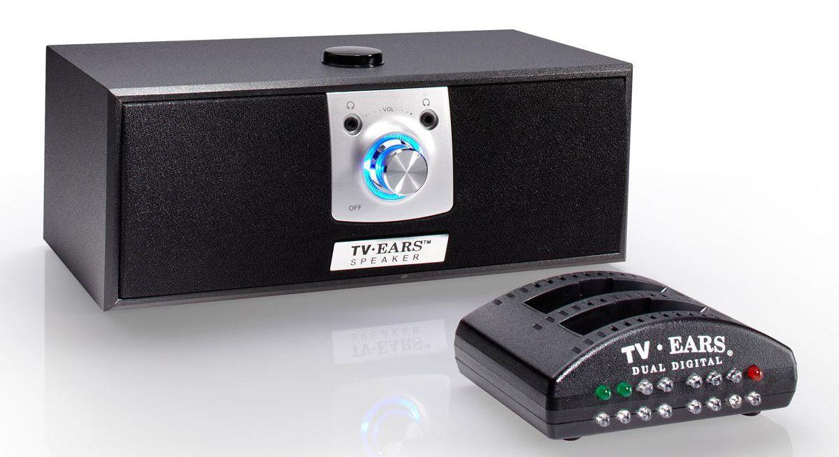 TV Ears Voice Clarifying Speaker
