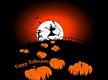 halloween night silhouettes halloween screen savers for macs