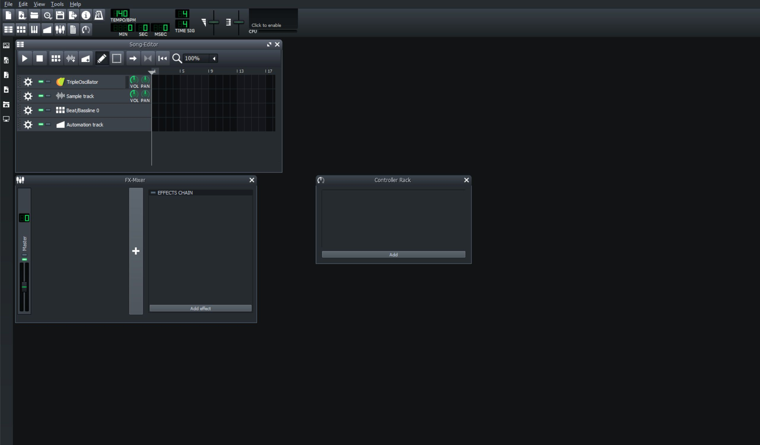 LMMS music production app