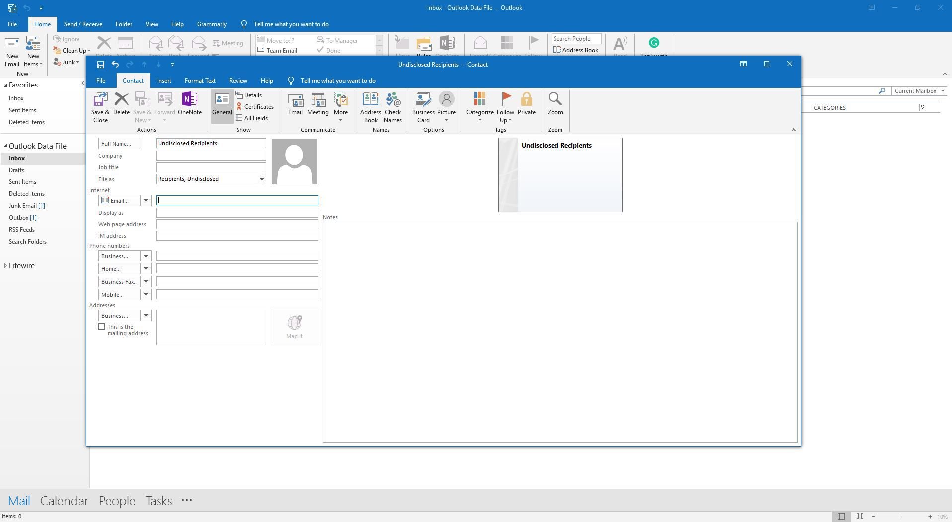 How to Send Email to Undisclosed Recipients in Outlook