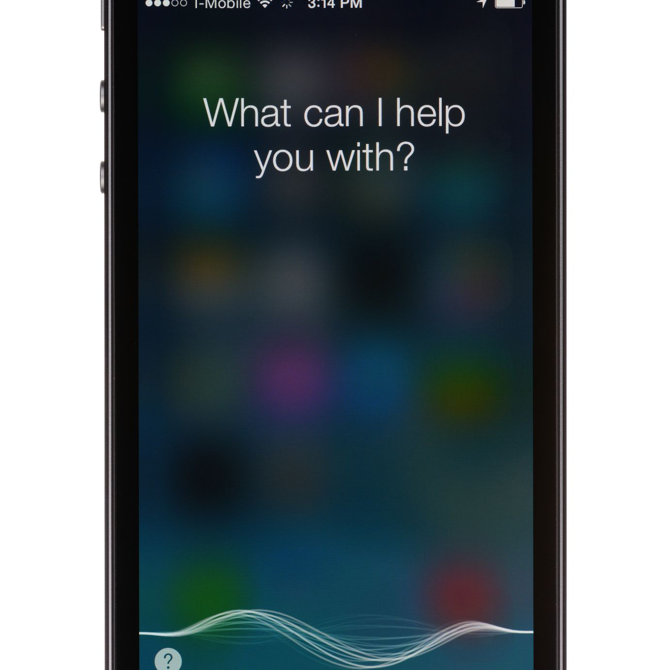 Activating Siri on the iPhone