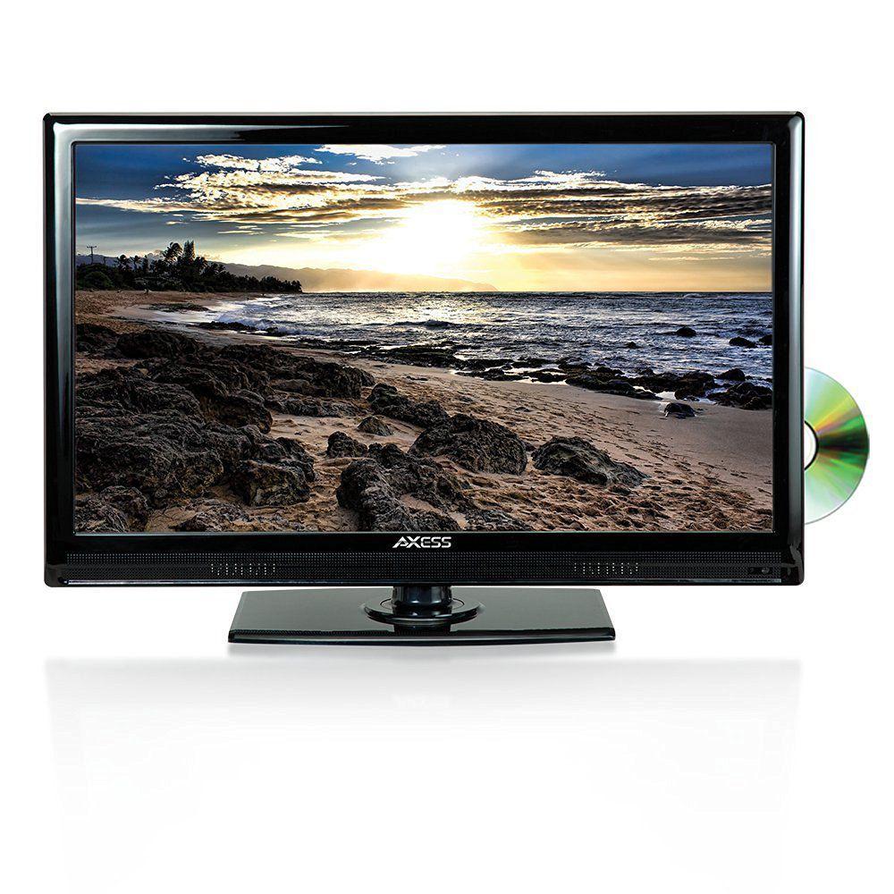 """Axess 24"""" 1080p LED HDTV"""