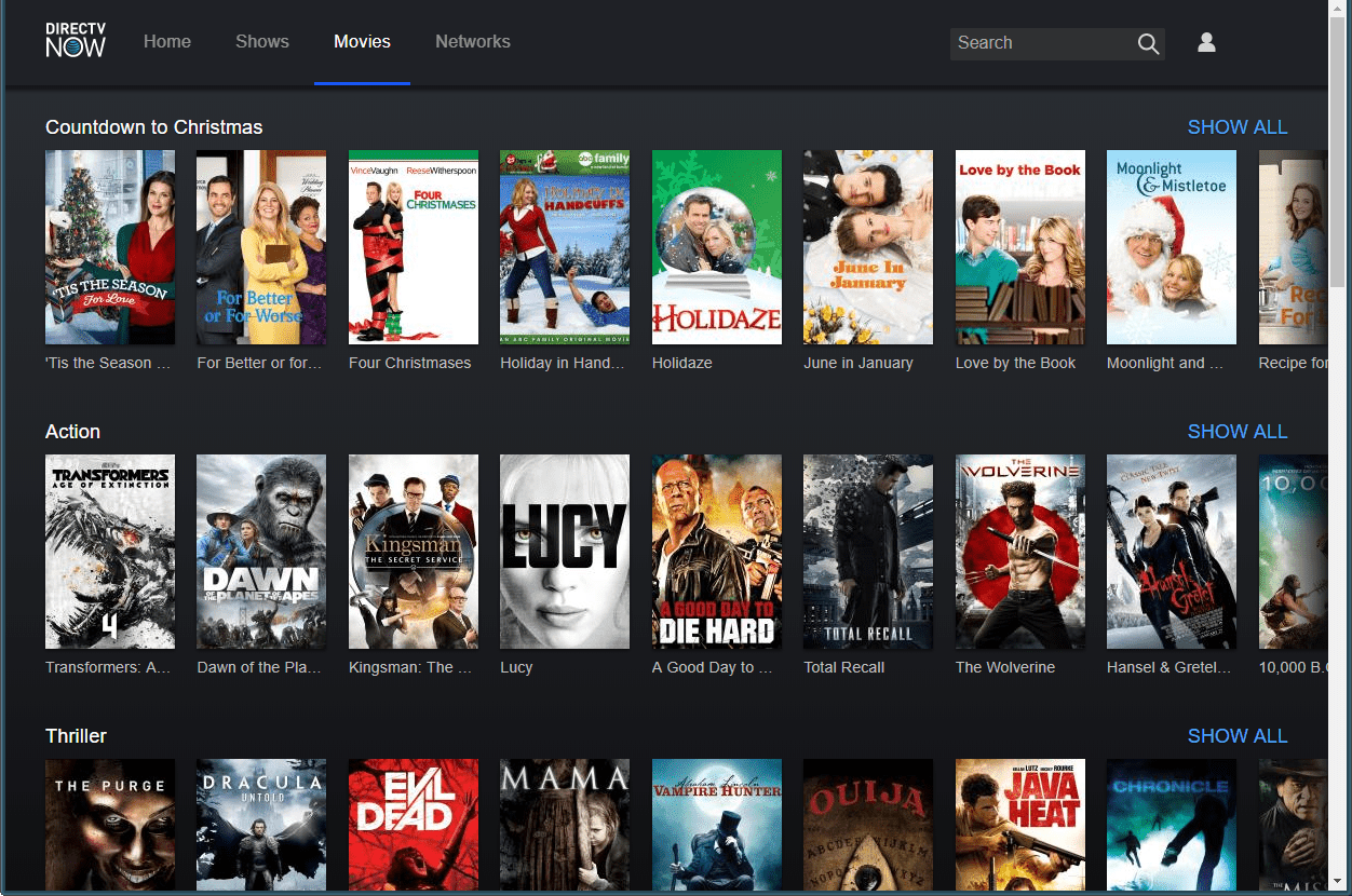 can you rent movies on directv now - Christmas Movies On Directv