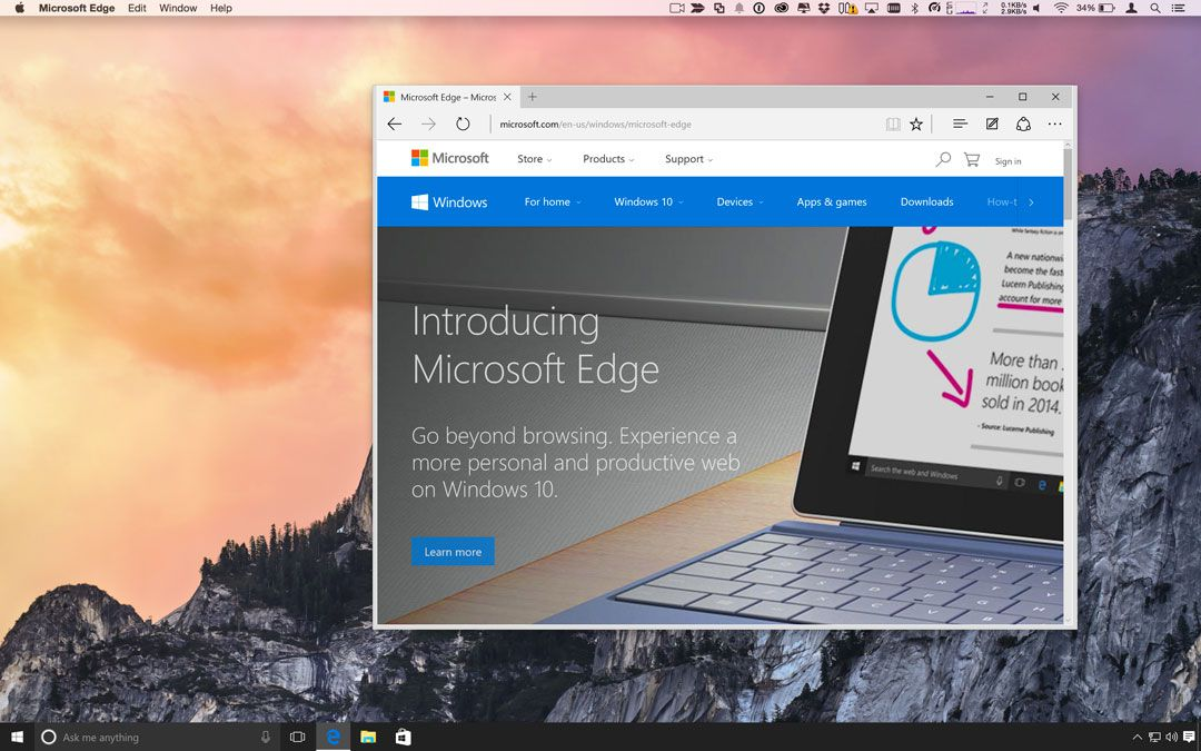 Install Microsoft Edge for Mac and iOS