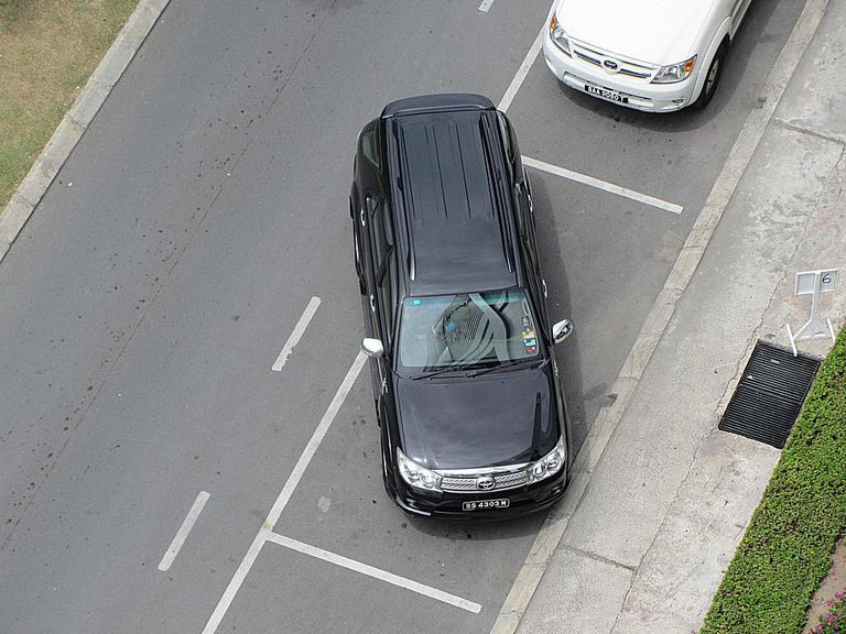 Automatic parking can make awkward parking jobs a thing of the past.