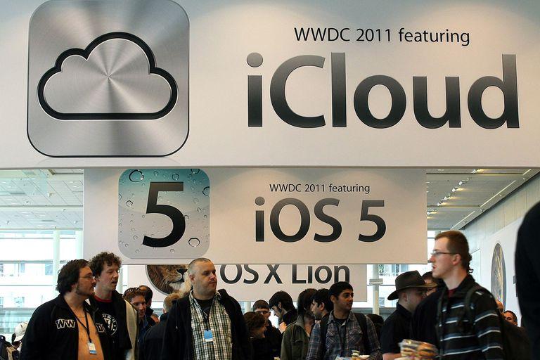 iCloud signs at WWDC 2011